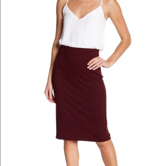 Philosophy Dresses & Skirts - Philosophy stretch knit pencil skirt